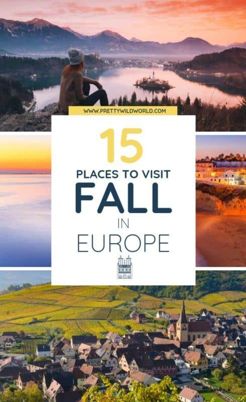 Autumn in Europe | Looking for beautiful cities to visit this fall in Europe? Read this travel guide now! #traveldestinations #traveltips #bucketlisttravel #travelideas #travelguide #amazingdestinations #traveltheworld