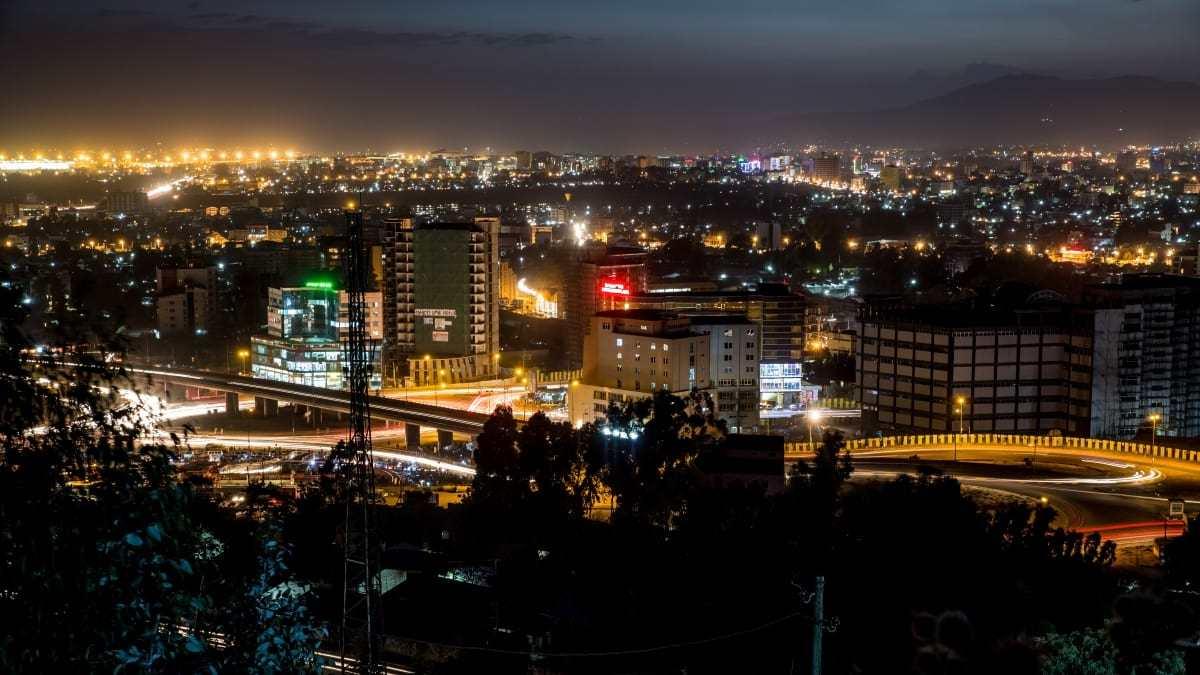 Addis Ababa Ethiopia Northeast Africa