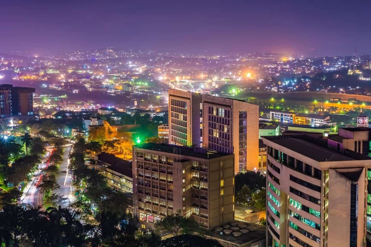 Kampala City Uganda East Africa