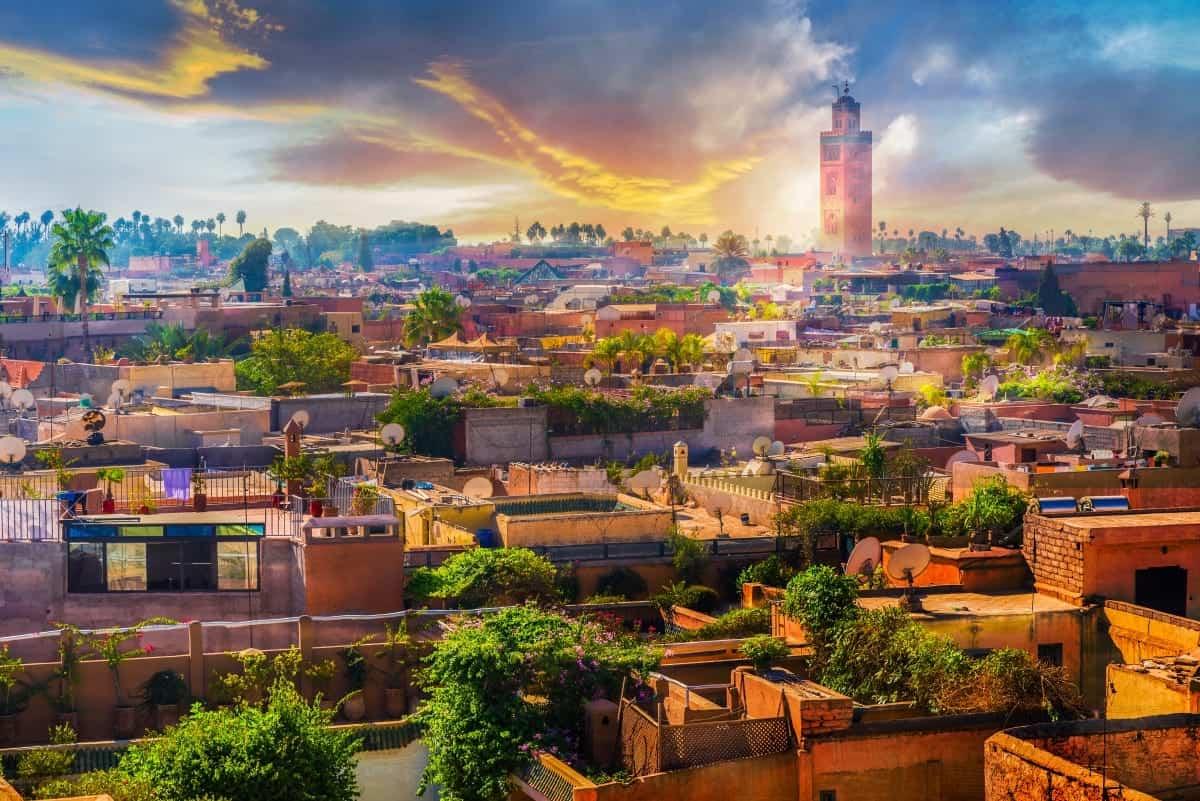 Marrakech Medina Morocco North Africa