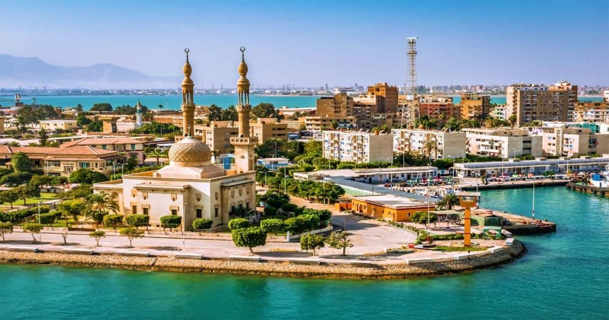 Port Said Egypt Northeast Africa