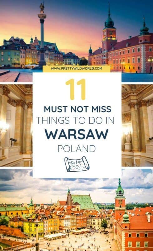 Top 11 Things to do in Warsaw (Poland)