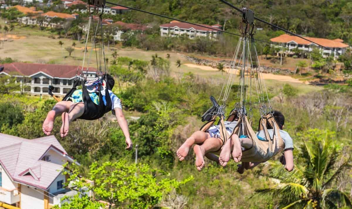 Zipline Park in Boracay