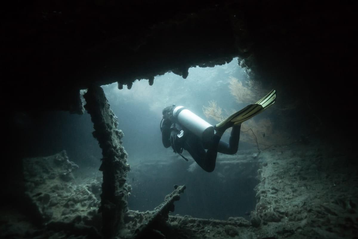 Dive World War II Shipwrecks Coron Palawan