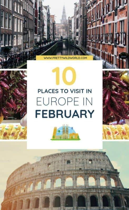 Are you planning your Europe bucket lists? Here are the top things to do in Europe in February. Read this post now to find out which destination you're heading next! Tickle your wanderlust now or pin this post for later read! #traveldestinations #traveltips #travelguide #traveltheworld #bucketlisttravel #travelideas #amazingdestinations #travelhacks