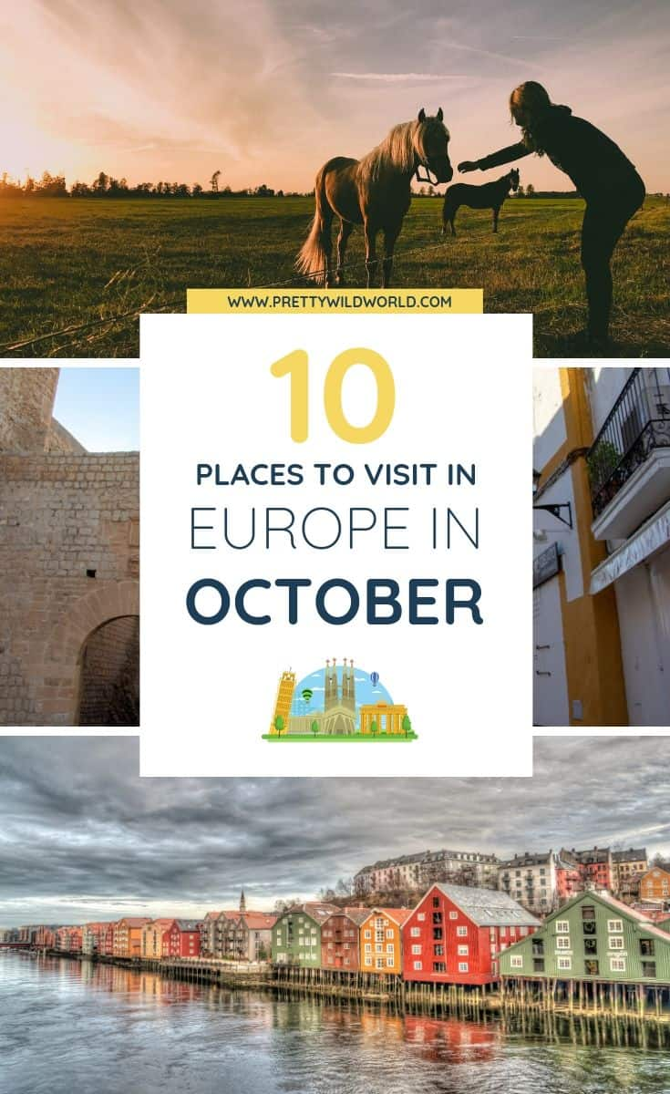 Europe in October | Are you planning your Fall holiday? Or perhaps you have an Autumn break you want to use to explore? Read this post now or pin it for later read! #traveldestinations #traveltips #bucketlisttravel #travelideas #travelguide #amazingdestinations #traveltheworld