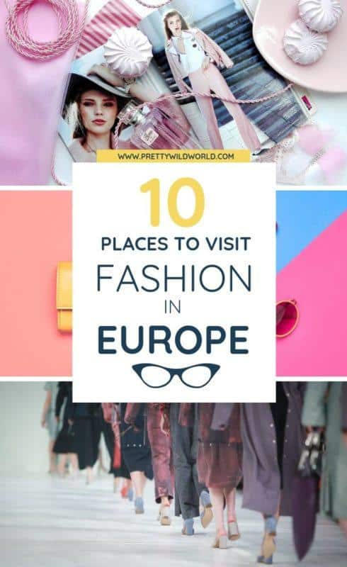 Fashion capitals of the world | We have compiled some of the best destinations for fashion in Europe. May it be <a class=