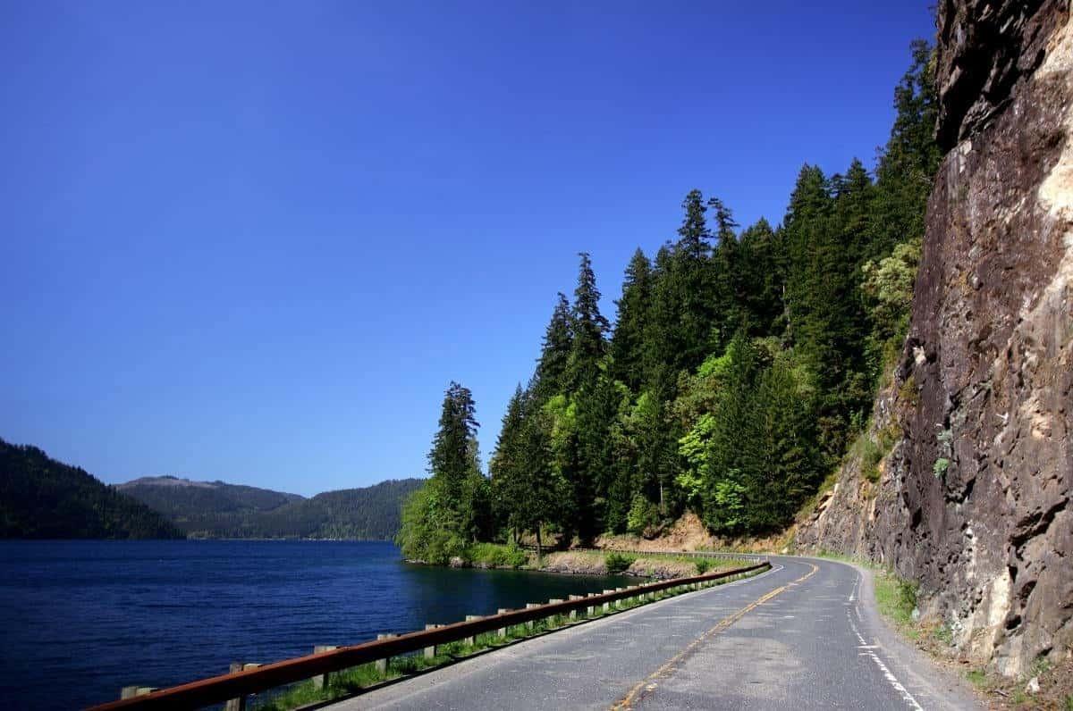 HWY 101 Olympic Peninsula Washington