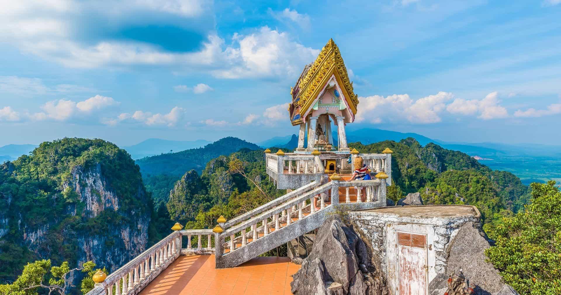 Tiger Cave temple Wat Tham Suea Krabi Thailand