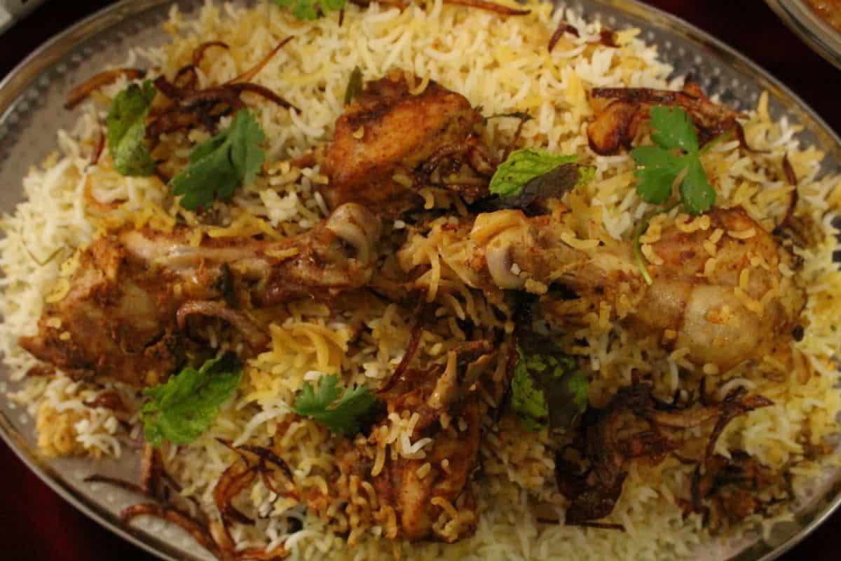 Biryani Hyderabad cuisine