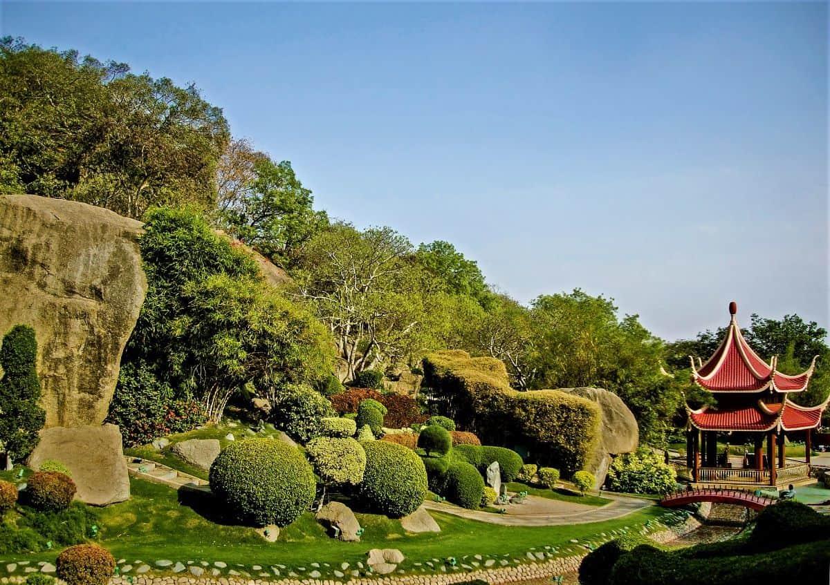 Garden at Ramoji Film City Hyderabad
