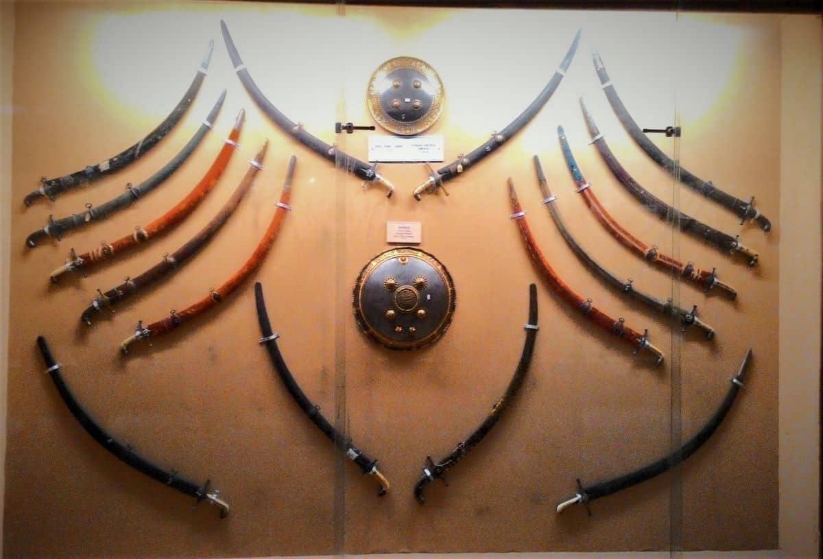 yderabad Talwars Artifact in Salar Jung Museum