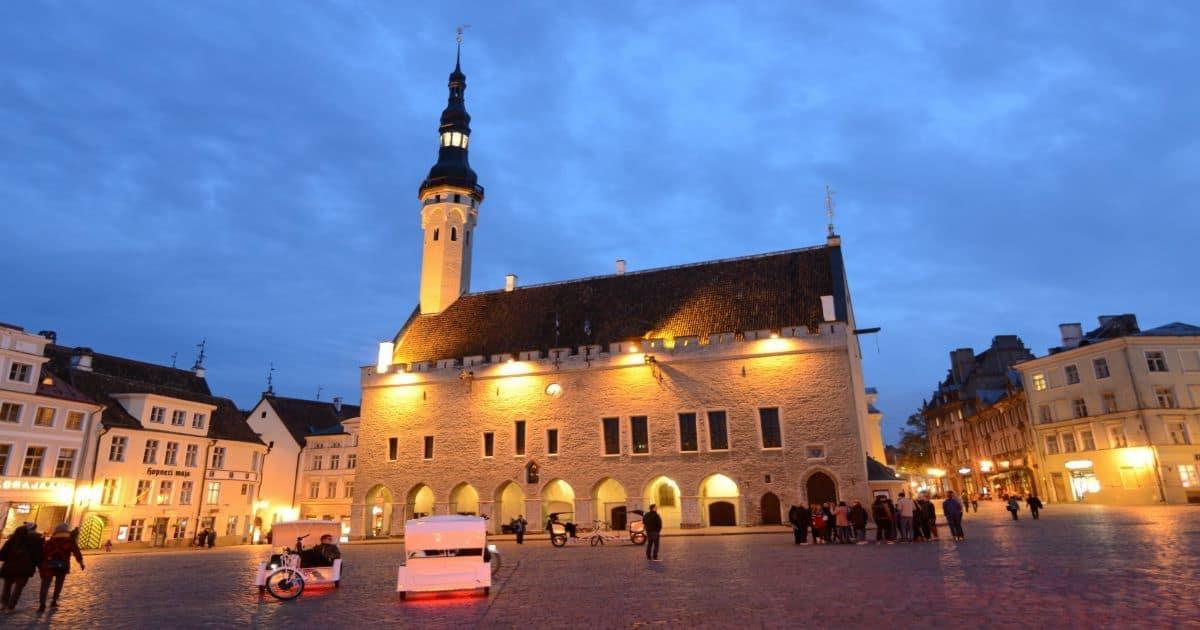 Talinn Town hall