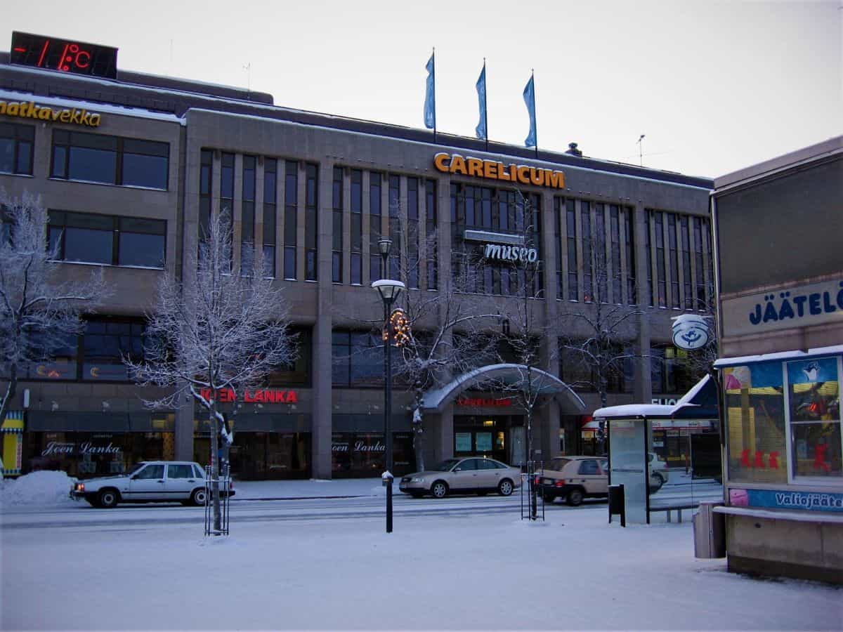 Carelicum cultural centre and museum in Joensuu
