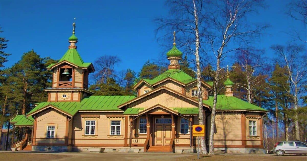 Orthodox Church of Saint Nicholas, Kirkkokatu Joensuu Finland