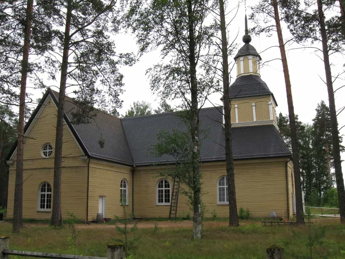 Paltaniemi Church Kajaani