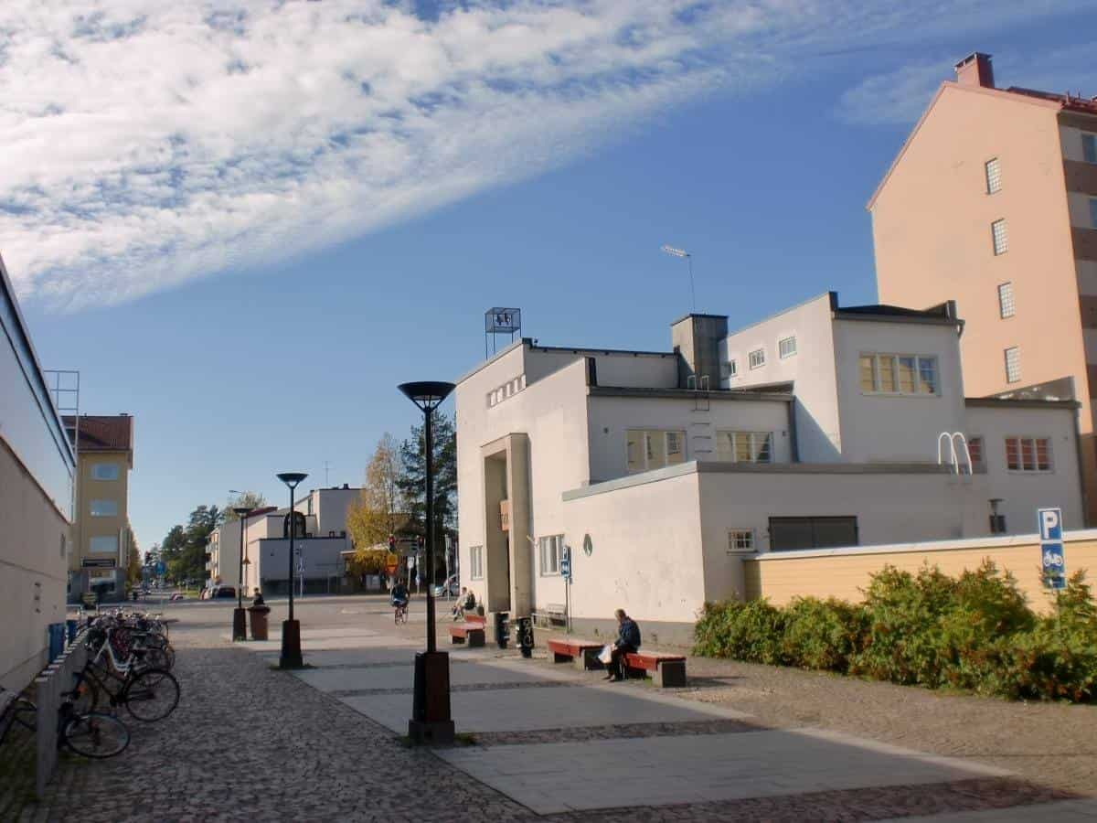 the building of Kajaani Art Museum