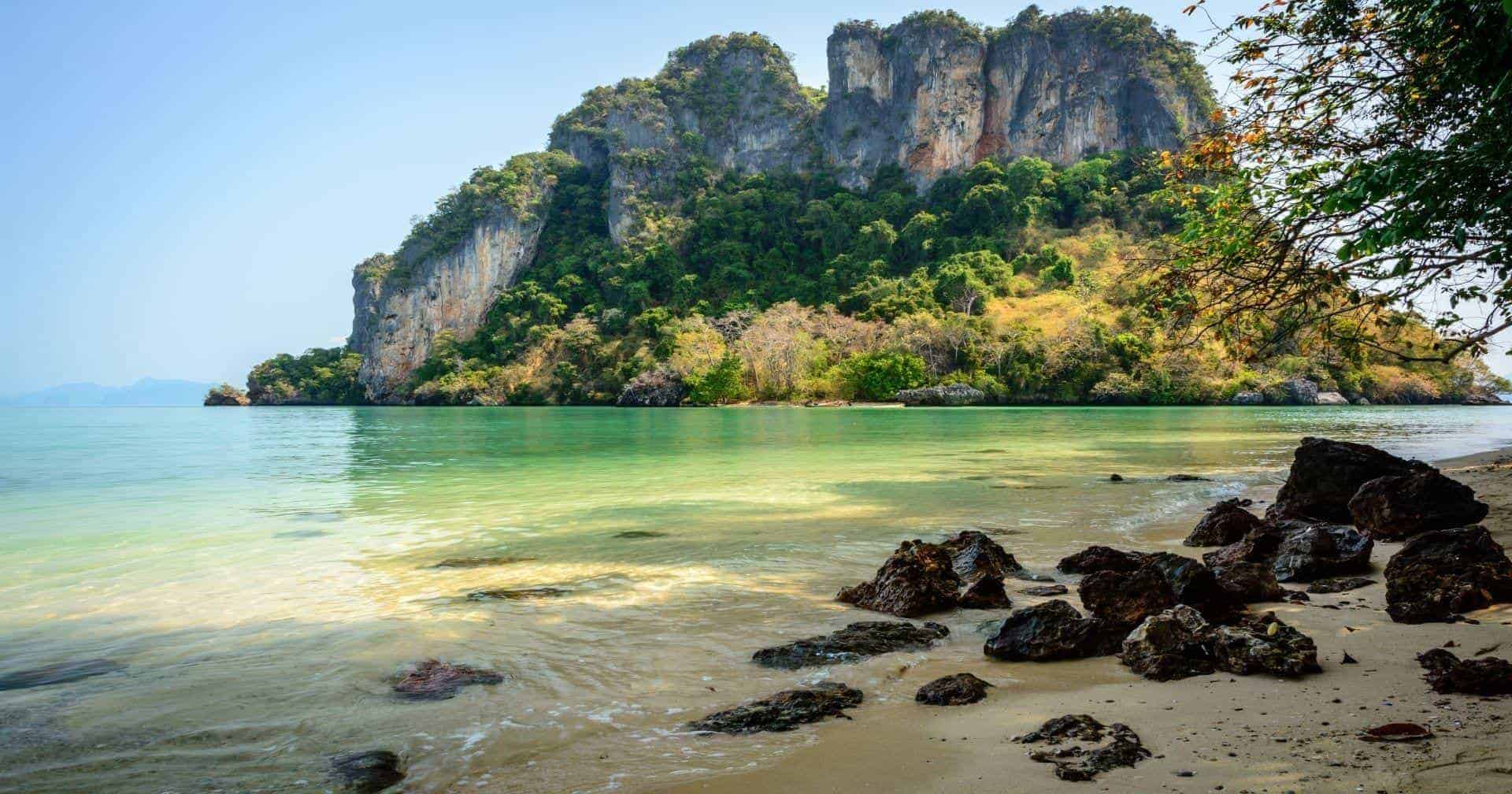 Four Islands tour in Krabi Thailand