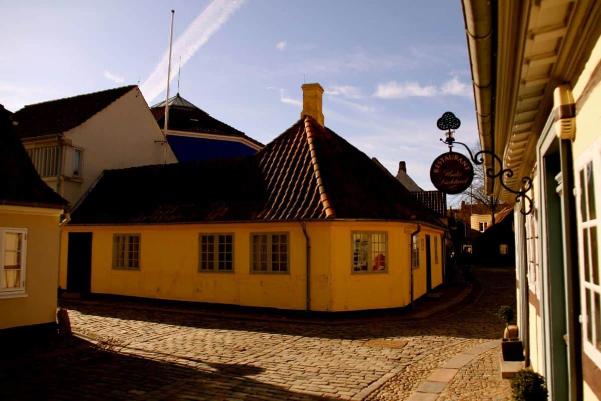 Hans Hans Christian Andersens house in Odense