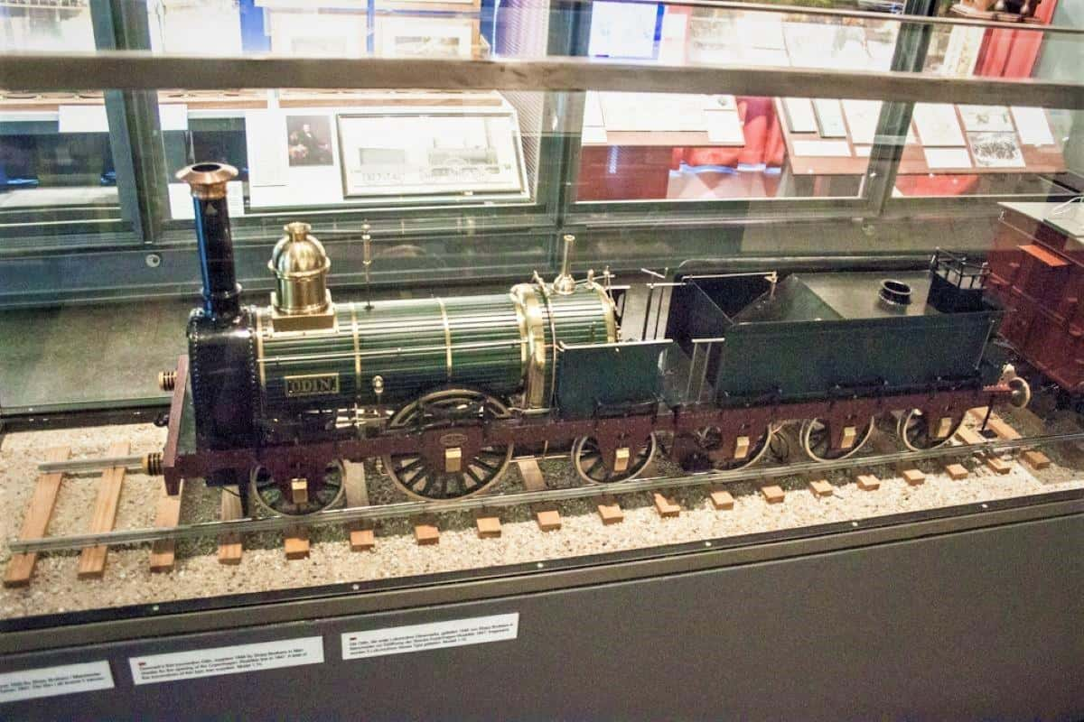 Things to do in Odense: model trains in Danish Rail Museum