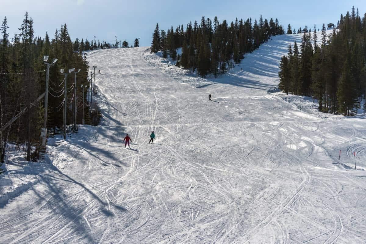 Iso-syote ski slope Oulu Finland