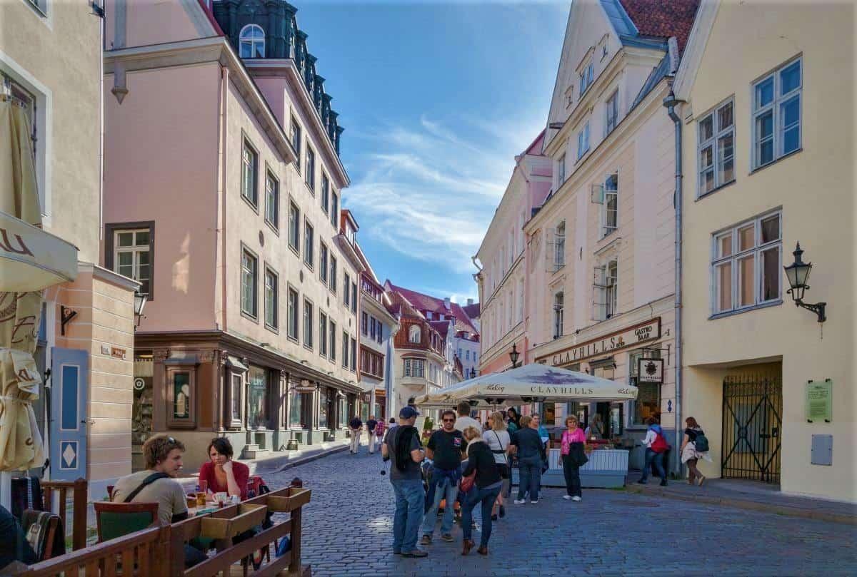 Things to do in Ravkere: Pikk street Talinn Estonia