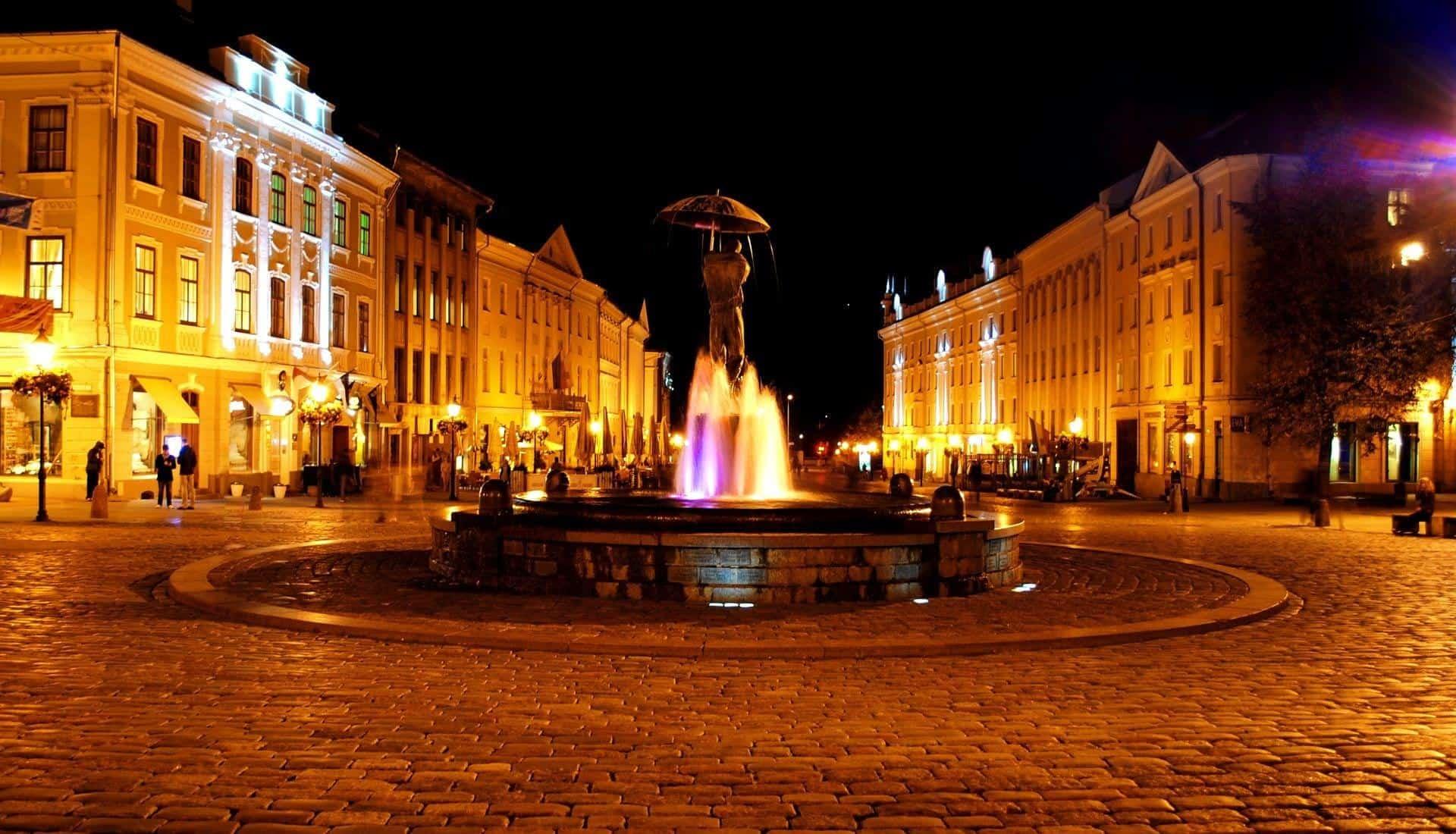Raekoja Square Tartu
