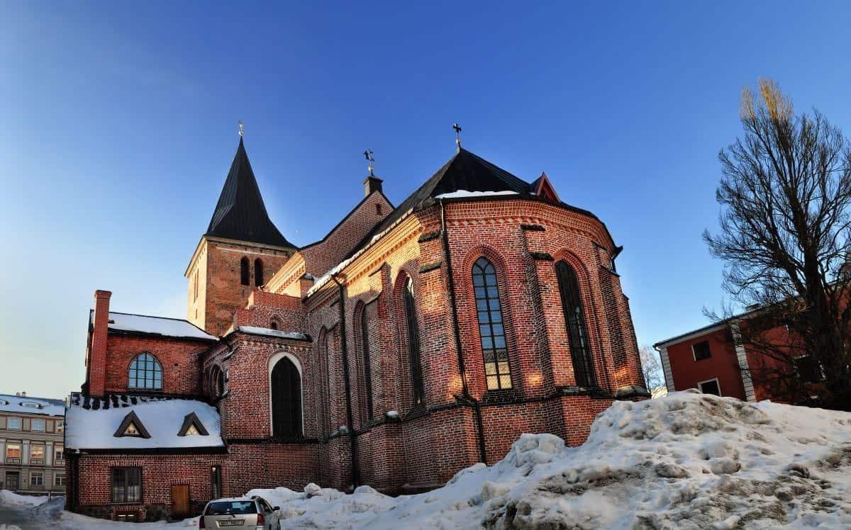 Things to do in Tartu: St John's Church in Tartu Estonia