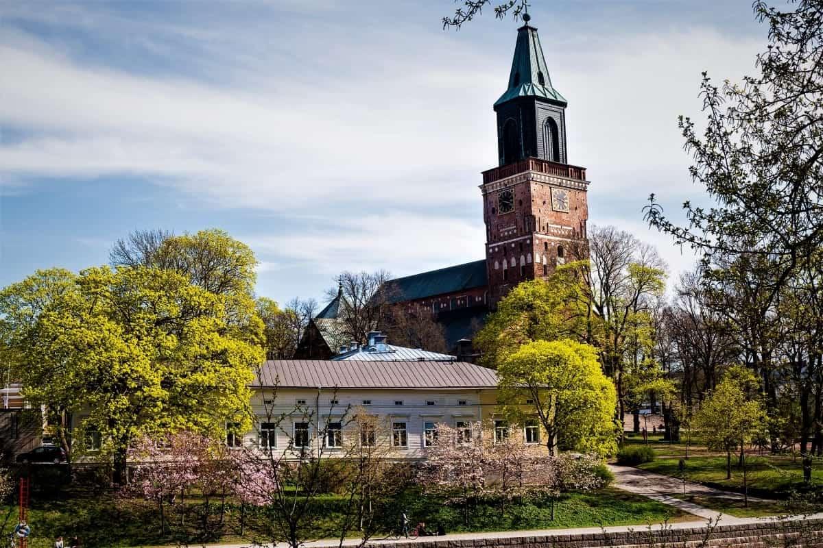 Turku Cathedral Tuku Finland