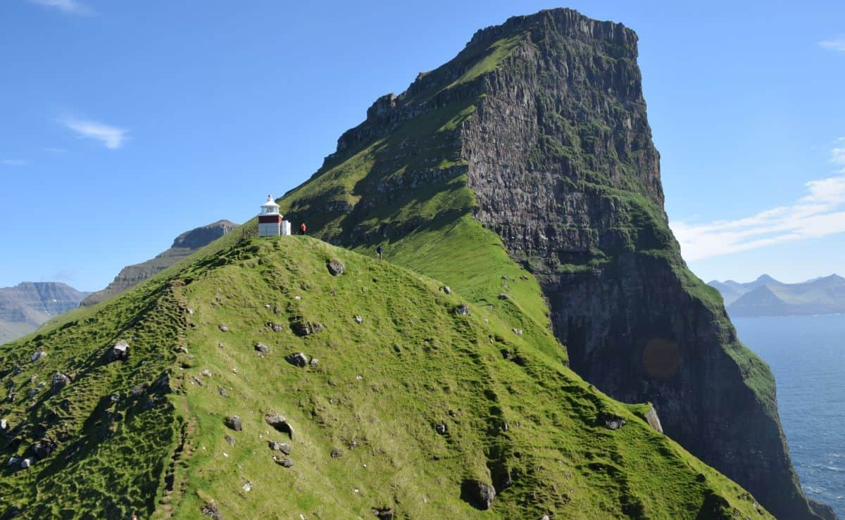 Kallur Lighthouse Faroe Island