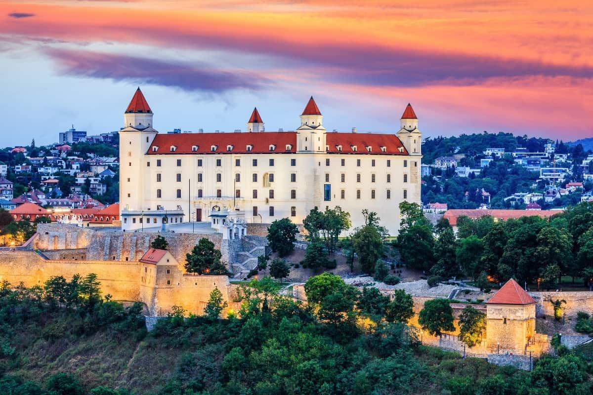 Europe in November, Bratislava.