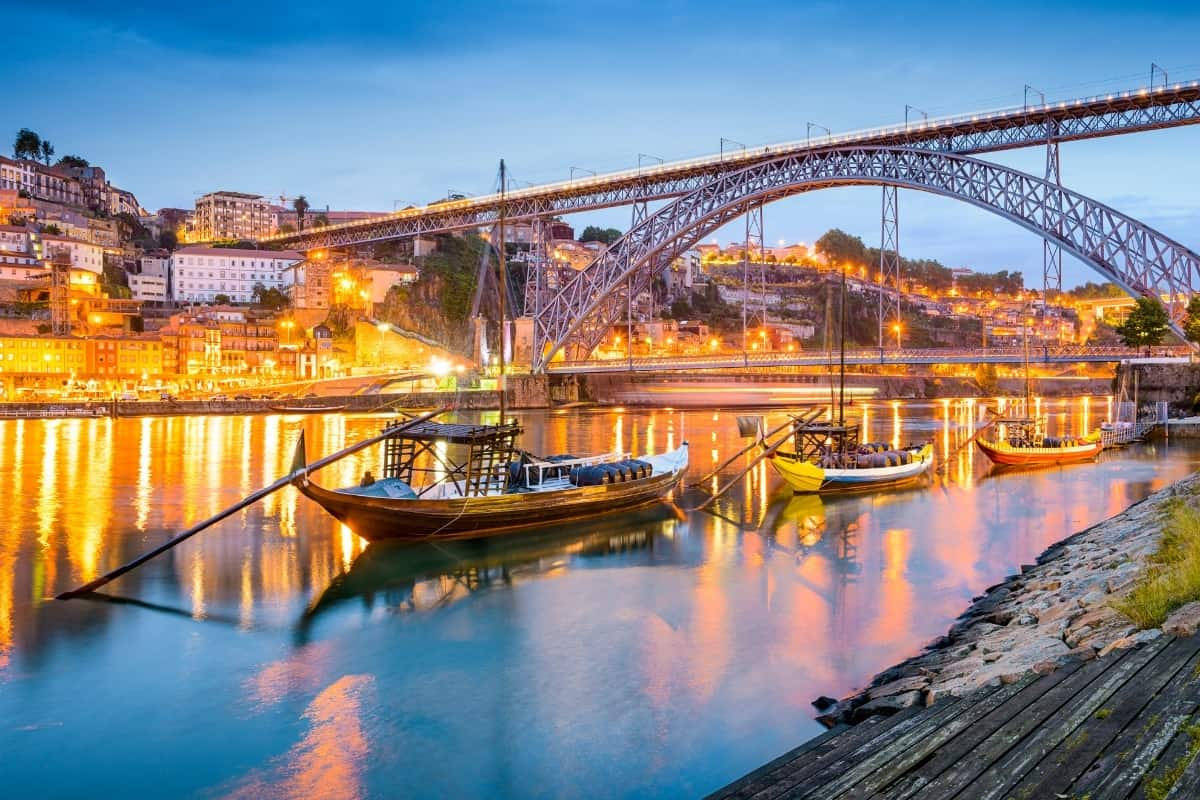 Porto is a unique place to visit in Europe in November.