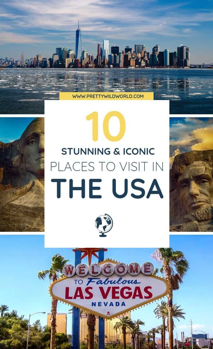 Places to visit in USA | Do you want to travel to the USA? Find out what are the best photography spots, road trips, states to visit, bucket list destinations, New York, best cities, and top food! Read this now or pin it for later read. #traveldestinations #traveltips #bucketlisttravel #travelideas #travelguide #amazingdestinations #traveltheworld