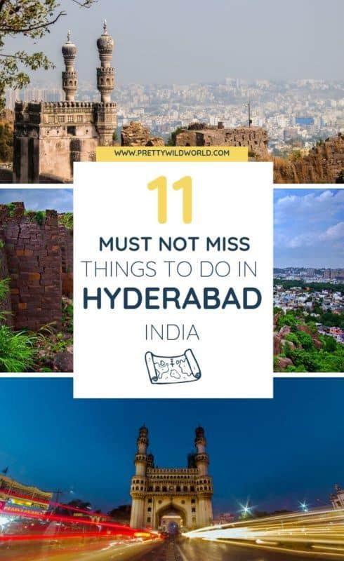 Things to do in Hyderabad | Travel to one of the destinations in India that is rich in culture, have delicious food, art, stunning architecture, friendly people, and stunning city – make sure you check out all the best places to visit in Hyderabad. Read this post now or pin it for later read! #traveldestinations #traveltips #bucketlisttravel #travelideas #travelguide #amazingdestinations #traveltheworld