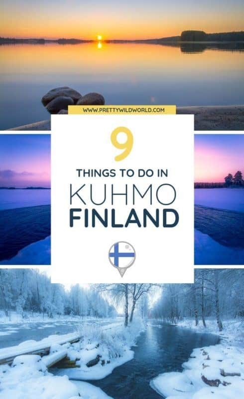 Things to do in Kuhmo, Finland | Do you want to visit a unique destination not known amongst travelers? Visit this beautiful city in Finland known for its nature and wildlife. #kuhmo #finland #europe #traveldestinations #traveltips #travelguide #traveltheworld #bucketlisttravel #travelideas #amazingdestinations #travelhacks