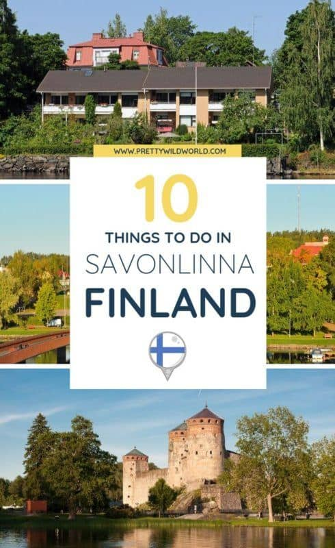 Things to do in Savonlinna, Finland | Ever thought of visiting a city not known to most tourist yet? Check out this lovely city on the eastern part of Finland! #Savonlinna #Finland #Europe #traveldestinations #traveltips #travelguide #traveltheworld #bucketlisttravel #travelideas #amazingdestinations #travelhacks