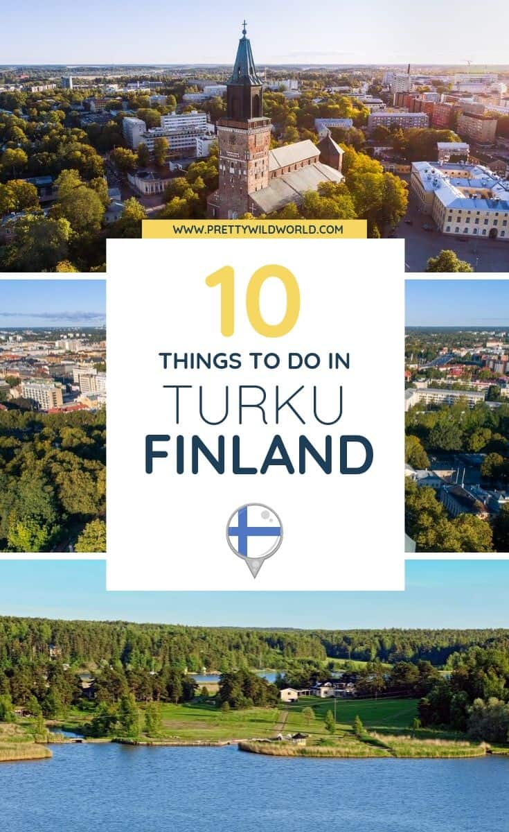 Things to do in Turku, Finland | The old capital of Finland and known for its beautiful medieval castle and cobblestone streets. Read this post to learn more about it! #Turku #Finland #Europe #traveldestinations #traveltips #travelguide #traveltheworld #bucketlisttravel #travelideas #amazingdestinations #travelhacks