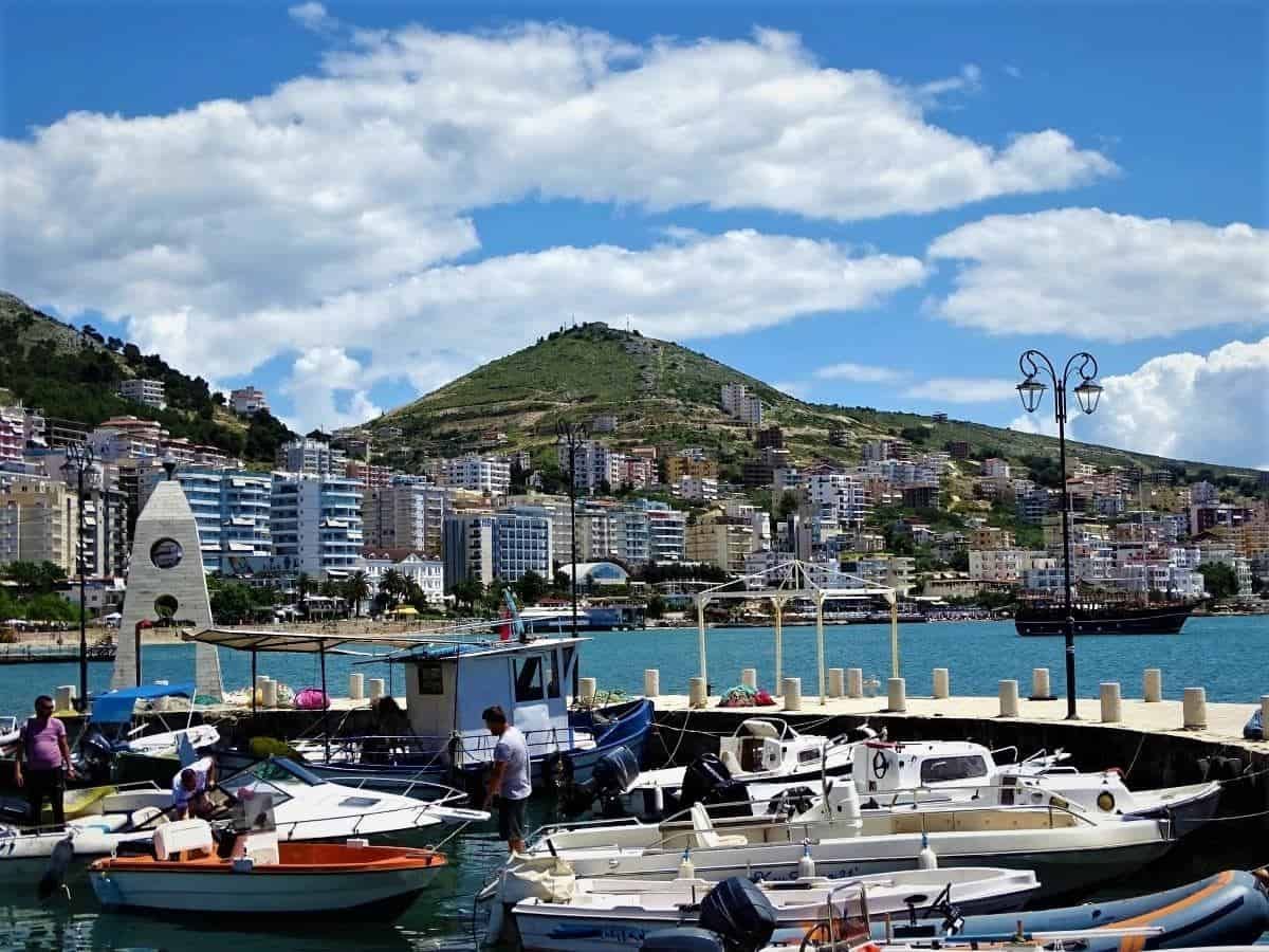 Backpacking destinations in Europe for College Students: Saranda, Albania