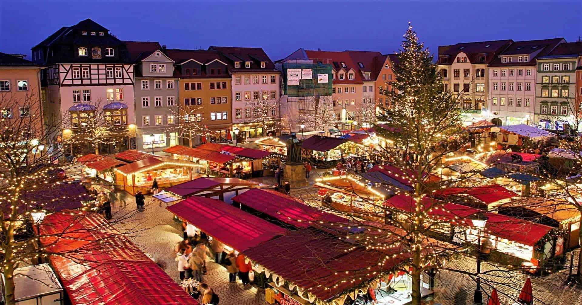 Christmas market Thuringia Germany