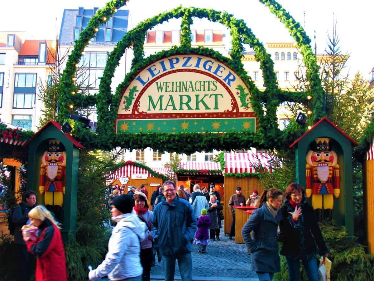 Germany Leipziger Weihnachtsmarkt Germany