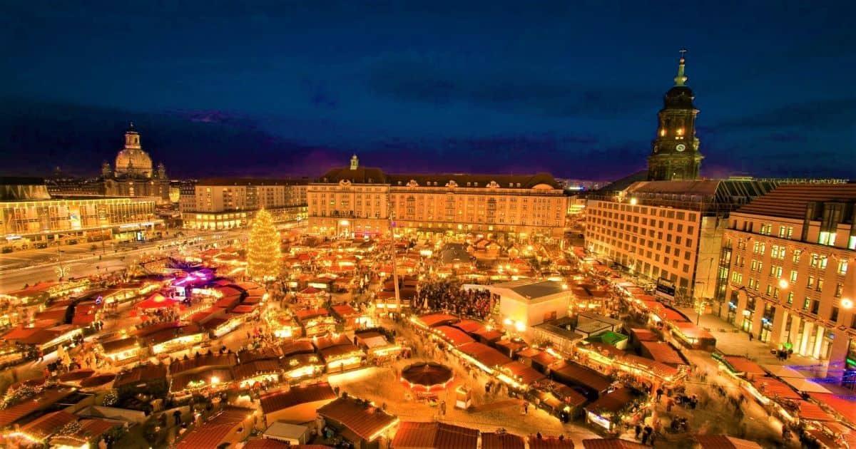 Striezelmarkt Dresden Germany