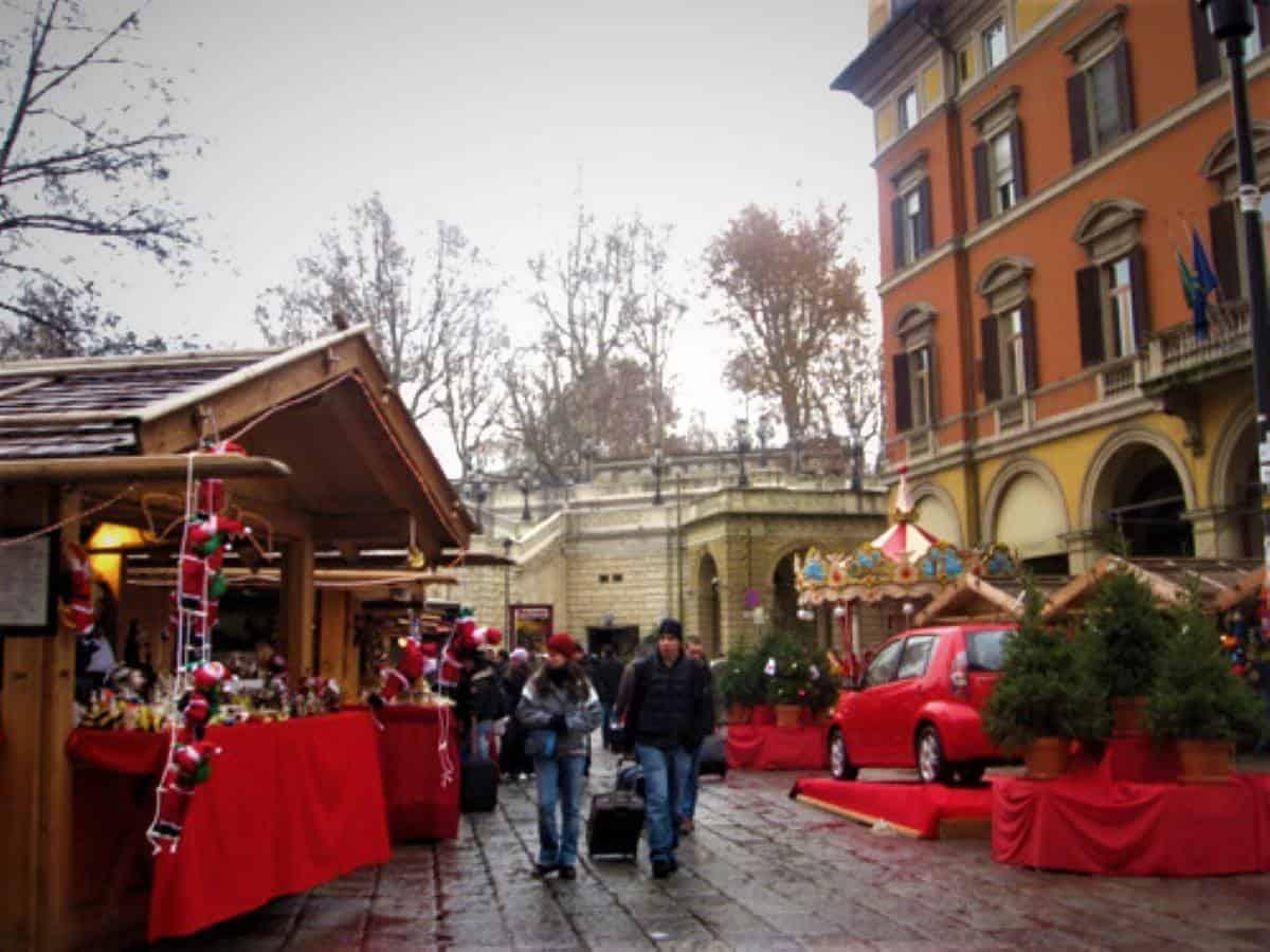 Bologna Christmas market