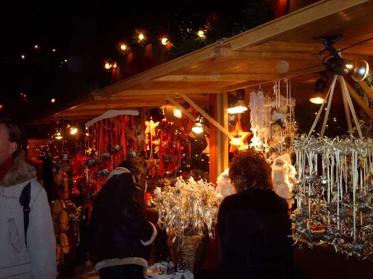 Bolzano Italy Christmas market