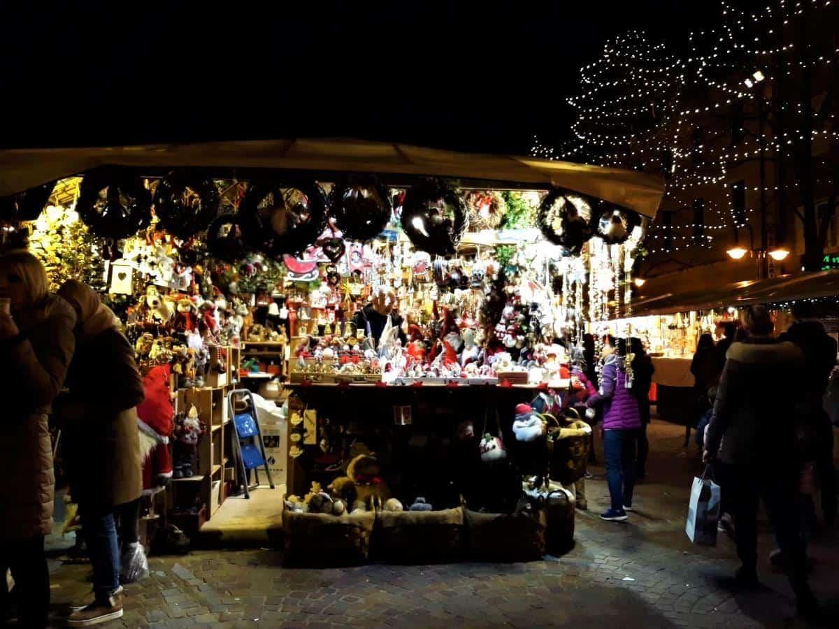 Trento christmas market italy