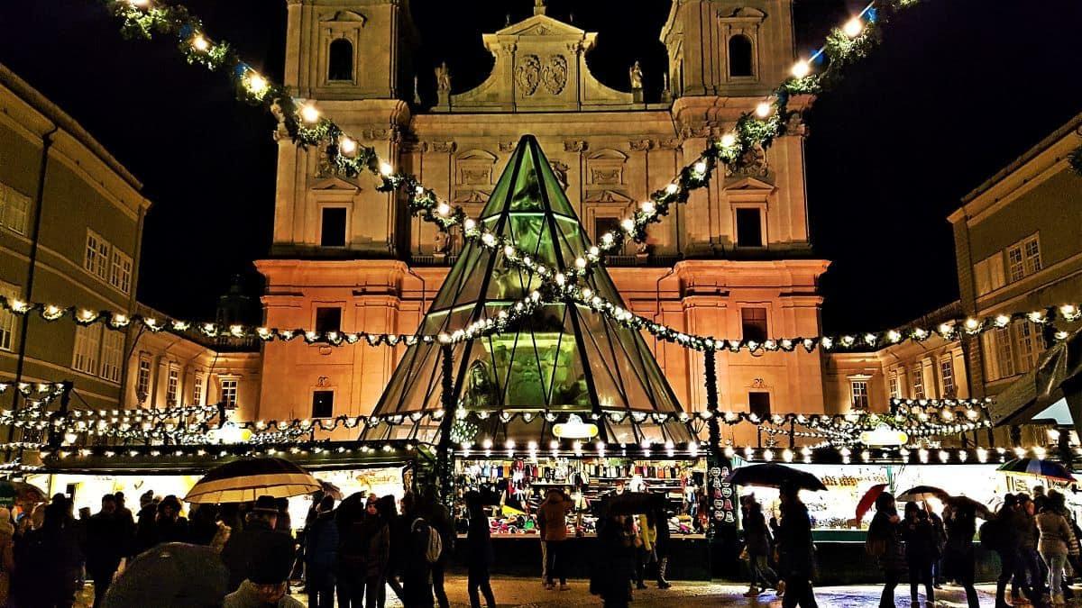 Christmas Market Salzburg Austria
