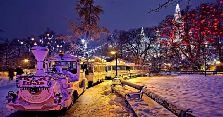 Vienna Austria Christmas market