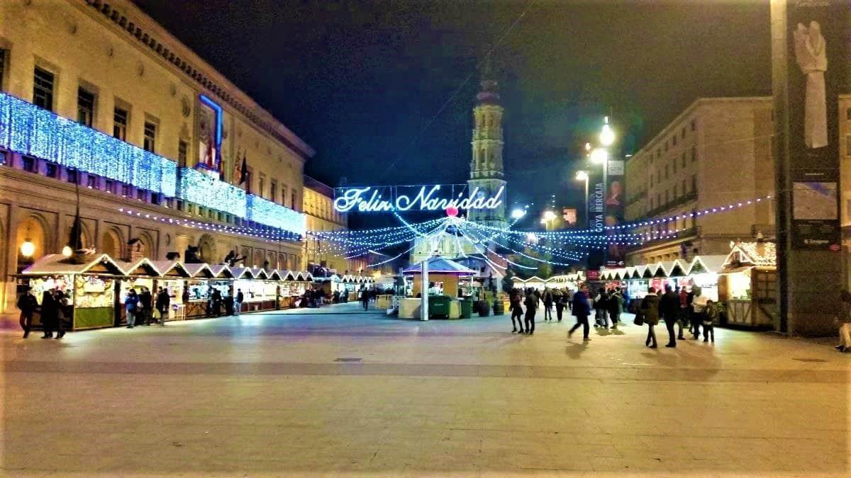 Zaragoza Christmas Market
