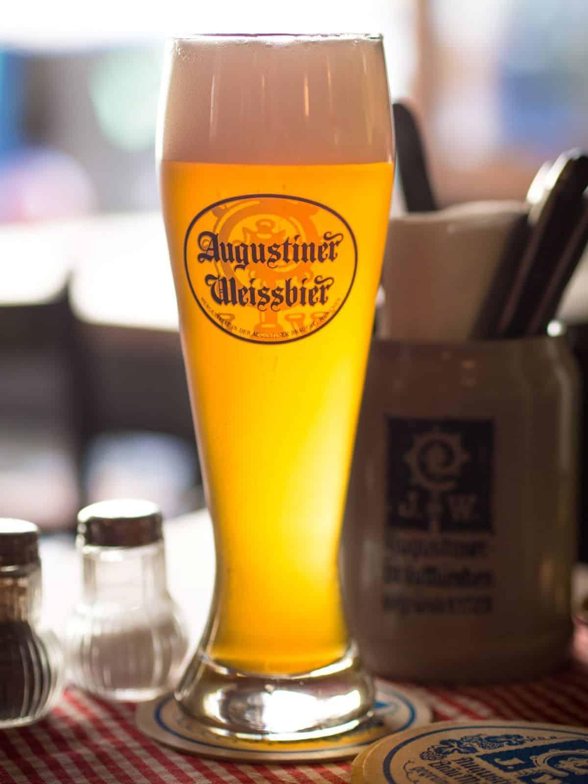Augustiner Weissbier in Munich