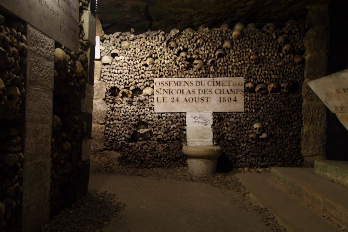 Catacombes in Paris