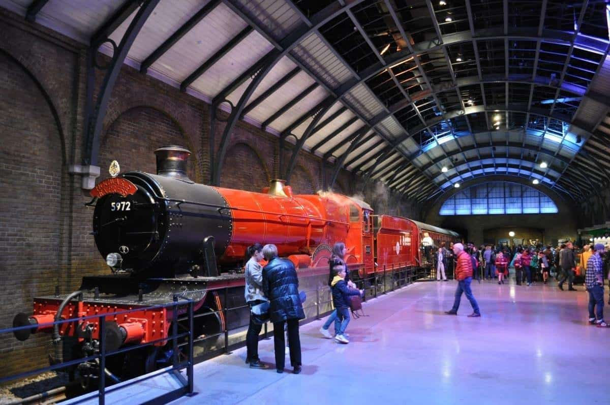 Hogwarts Express at Harry Potter